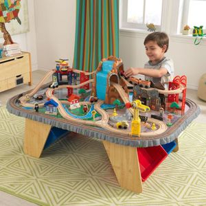 CIRCUIT KIDKRAFT Ensemble Train et Table Waterfall Junctio