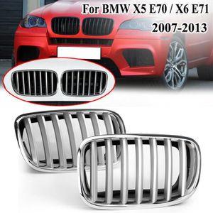 Delaman Pare-Chocs r/éflecteur Gauche et Droite Pare-Chocs arri/ère r/éflecteur Compatible avec BMW X5 E70 2007-2013 63217158949 63217158950