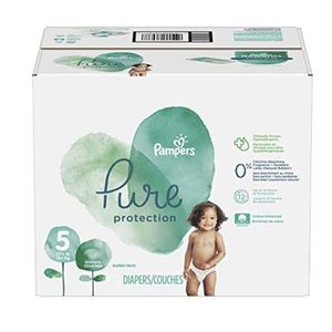 COUCHE 289 Couches Pampers Pure Protection taille 5