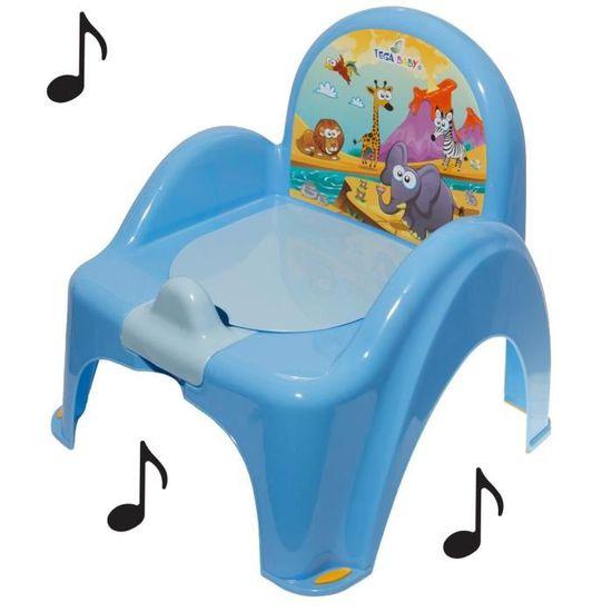 Princesse pot de toilette musical Rose avec pieds antid/érapants pour b/éb/é enfant id/éal pour apprentissage de la propret/é