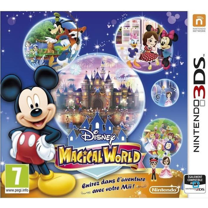 disney magical world jeu 3ds achat vente jeu 3ds disney magical world jeu 3ds cdiscount. Black Bedroom Furniture Sets. Home Design Ideas