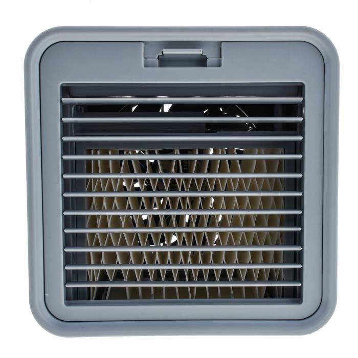 10 W USB Ventilateur de refroidisseur d'air - ventilateur de refroidisseur d'eau 380 ml - Climatisation maison bureau Noir La62725