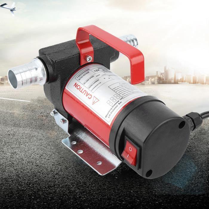 Cuque 12V 160W Pompe d'Aspiration d'Huile Portable 40L-Minute Pompe de Transfert Diesel-Huile pour Quad Auto Moto HB068