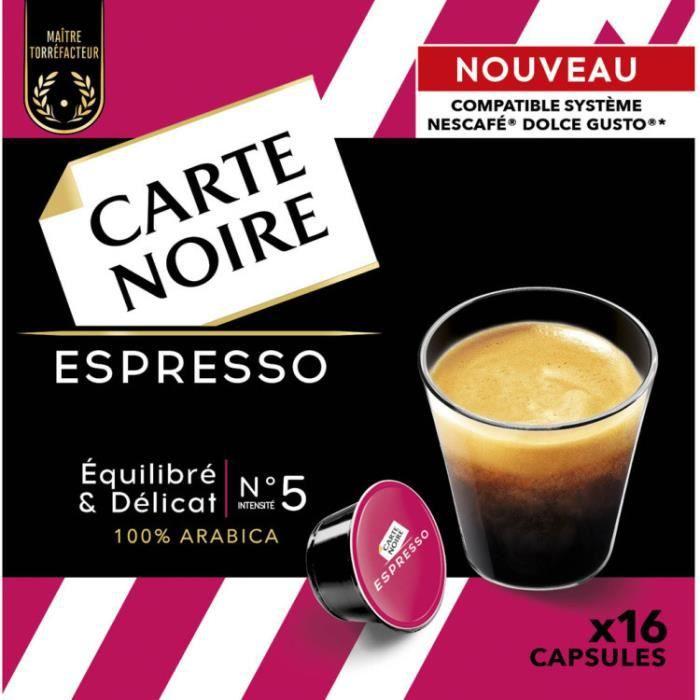 CARTE NOIRE Café Espresso - 16 capsules - 128 g