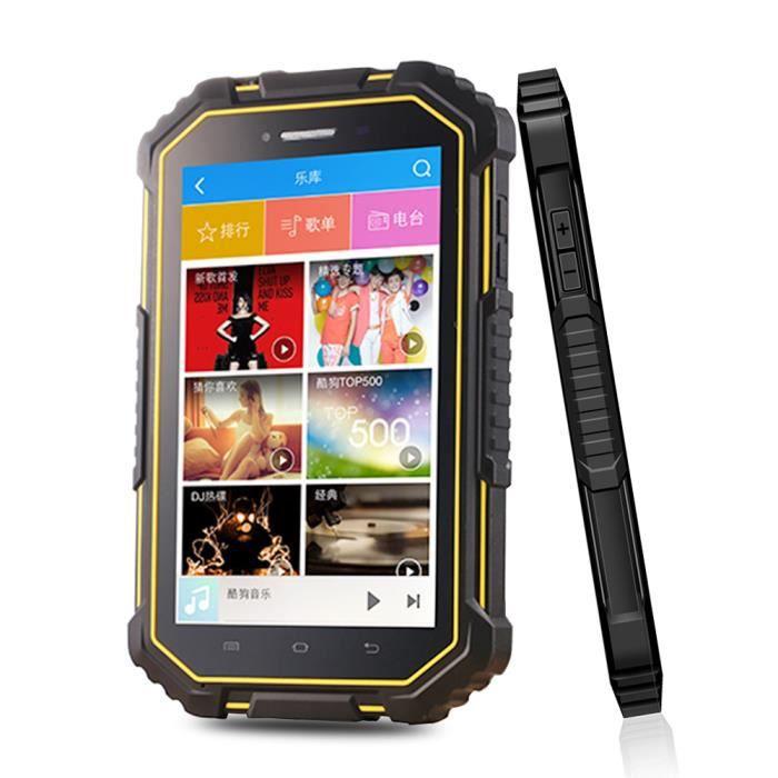 Erhino Android Tablette Pc 4G Lte 7.0 pouces 2G 16G 8000 mah batterie avec Lecteur Nfc Robuste tablette Pc industrielle