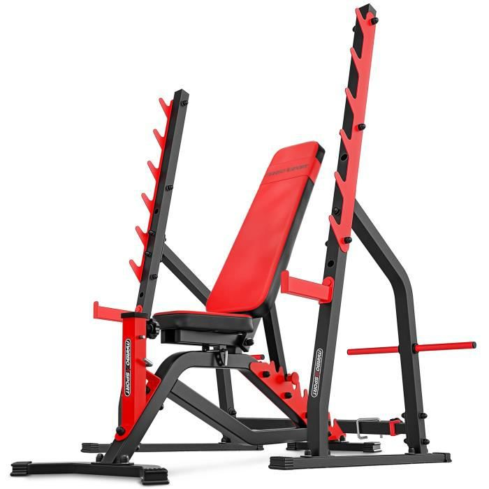 Marbo Sport Set MS3 - Banc de musculation bilatéral MS-L101 + support d'haltères MS-S107