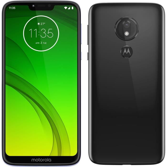 MOTOROLA Moto G7 Power 64Go Ceramic Black