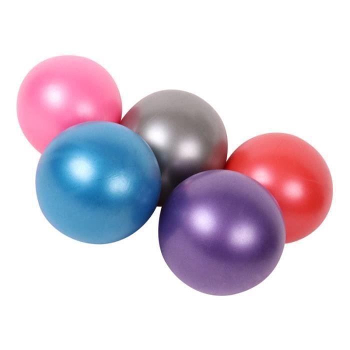 5 PCS 25 CM Yoga Mini Ball Portable Pilates Ballon Auxiliaire Fitness de Gymnastique TAPIS DE SOL - TAPIS DE GYM - TAPIS DE YOGA