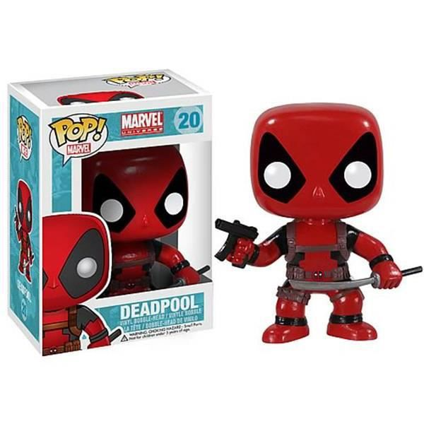 Porte Clé Marvel - Deadpool Pocket Pop 4cm