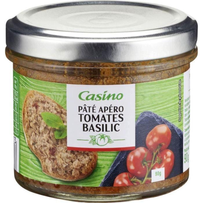 Pâté apéro tomates basilic - 90 g
