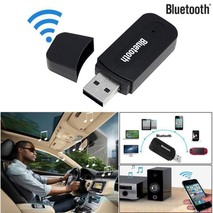 HAUT-PARLEUR - MICRO 3.5mm sans fil USB Bluetooth Aux Audio Stéréo Haut