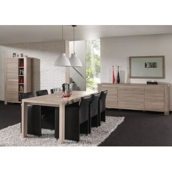 Salle manger compl te contemporaine sybel ii achat for Salle a manger complete contemporaine