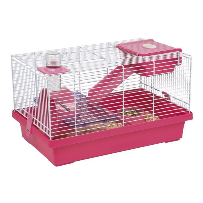 cage hamster souris mica fuschia achat vente cage cage. Black Bedroom Furniture Sets. Home Design Ideas