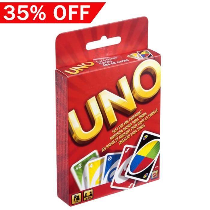 uno jeu de carte Uno carte jeux   Achat / Vente jeux et jouets pas chers