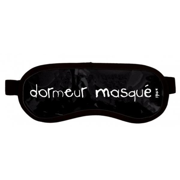 masque de nuit dormeur masqu noir noir achat. Black Bedroom Furniture Sets. Home Design Ideas