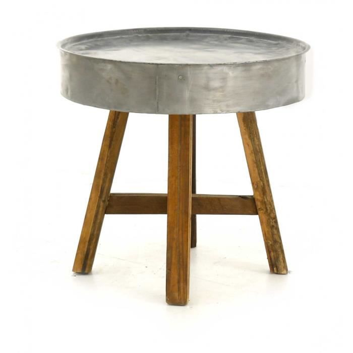 Preview for Table basse scandinave ronde copenhague 80