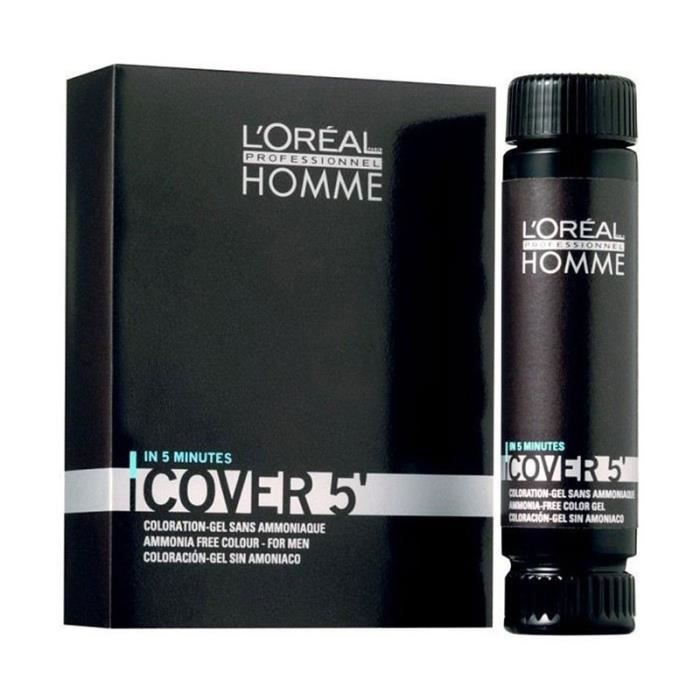 coloration cover 5 loral homme blond fonc - Coloration Barbe Grande Surface