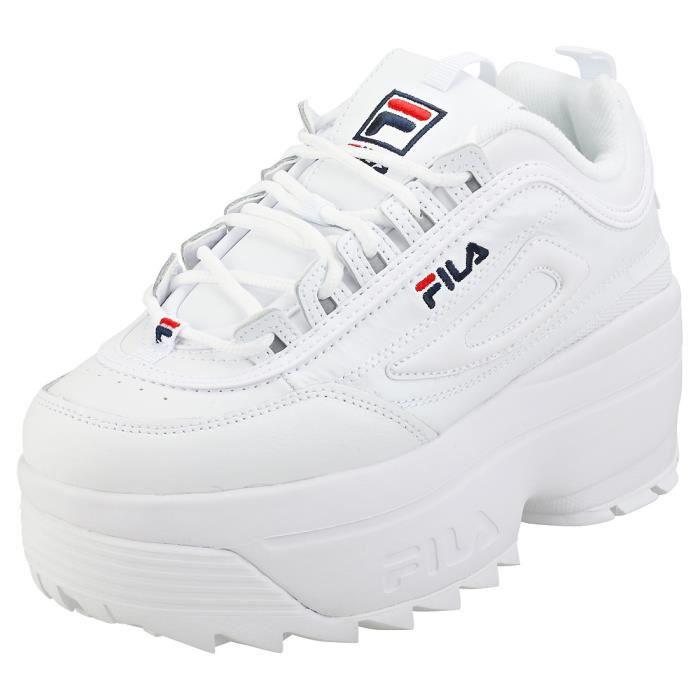 Baskets Disruptor blanc femme Fila,disruptor,baskts