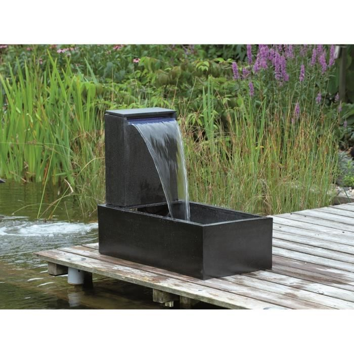 ubbink fontaine de jardin casale 45x35x15cm noir achat vente fontaine de jardin fontaine. Black Bedroom Furniture Sets. Home Design Ideas
