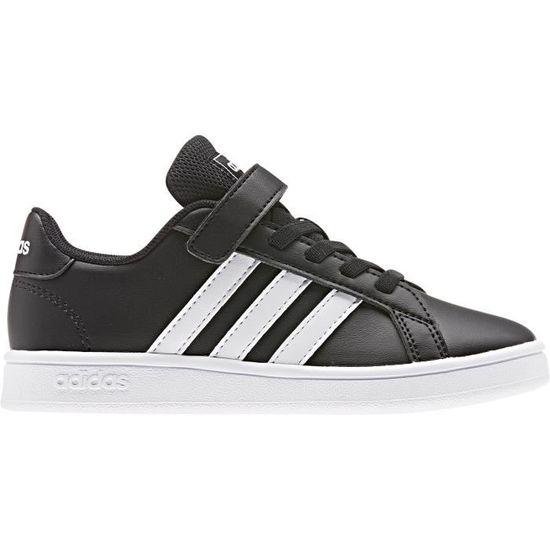 adidas grand court c chaussures de tennis mixte enfant
