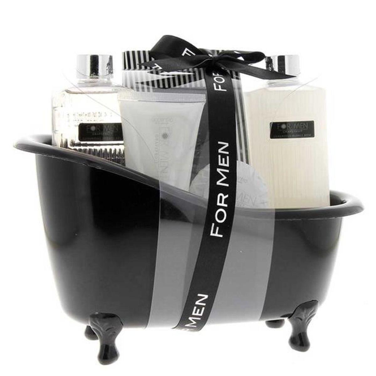 Coffret Cadeau FOR MEN Parfum PAMPLEMOUSSE dans Baignoire   Soin