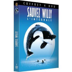 DVD DESSIN ANIMÉ Coffret Sauvez Willy l 'intégrale - En DVD