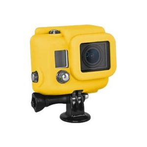 Xsories Silicone Cover Hero 3+ - Protection/ Personnalisation GoPro - housse compatible Hero 3+ /4 YELLOW
