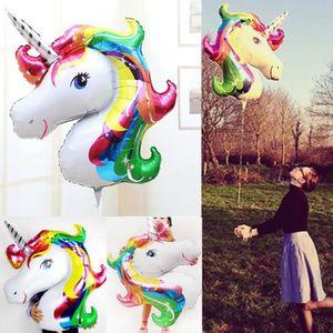 BALLE - BOULE - BALLON ILOVEDIY 2pcs 33*39cm Ballons de licorne Décoratio