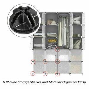 BOITE DE RANGEMENT 60 Cube DIY Placard modulaire Organisateur Armoire