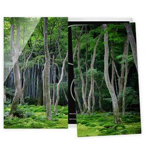 PLAQUE INDUCTION Couvre plaque de cuisson - Japanese Forest - 52x60