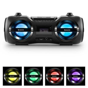 RADIO CD CASSETTE auna Soundblaster M - Ghettoblaster multimédia ave