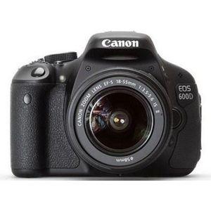 APPAREIL PHOTO RÉFLEX CANON EOS 600D + Objectif EF-S 18-55 mm f/3,5-5…