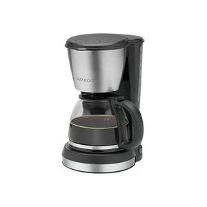 CAFETIÈRE Machine à café Clatronic KA 3562 noire-inox