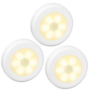 PIED DE LAMPE Lampe Détecteur de Mouvement, LED Lampes de Nuit,