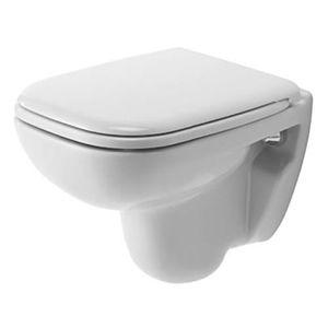 WC - TOILETTES Duravit WC suspendu compact d-code blanc.