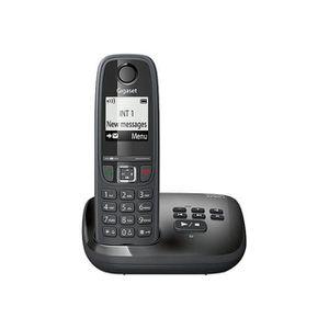 Téléphone fixe Gigaset AS405A Solo Téléphone fixe sans Fil Répond