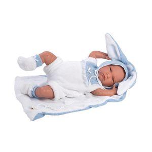 POUPON Poupon nouveau-né Lalo 42 cm, Avec costume de Lapi