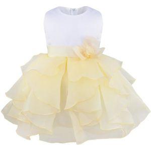Fille baptême demoiselle d/'honneur fête bébé satin robe//chapeau//culotte 0-9 mois blanc