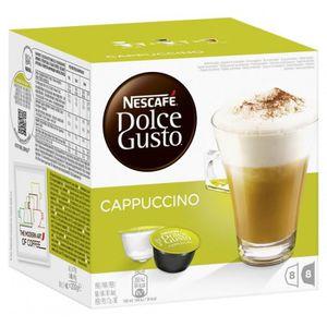 CAFÉ Nescafé Dolce Gusto Cappuccino 4 x 16 Capsules
