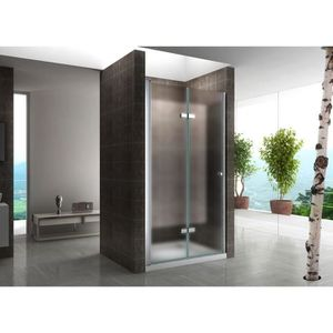 porte de douche pliante 80 cm achat vente porte de. Black Bedroom Furniture Sets. Home Design Ideas