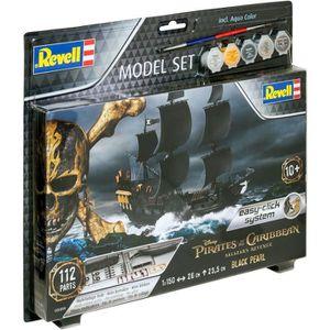 MAQUETTE DE BATEAU REVELL Model Set Easy-Click Bateaux Black Pearl 65