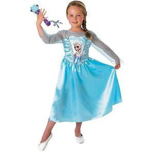 DÉGUISEMENT - PANOPLIE Costume luxe La Reine des Neiges Taille 5/6 ans