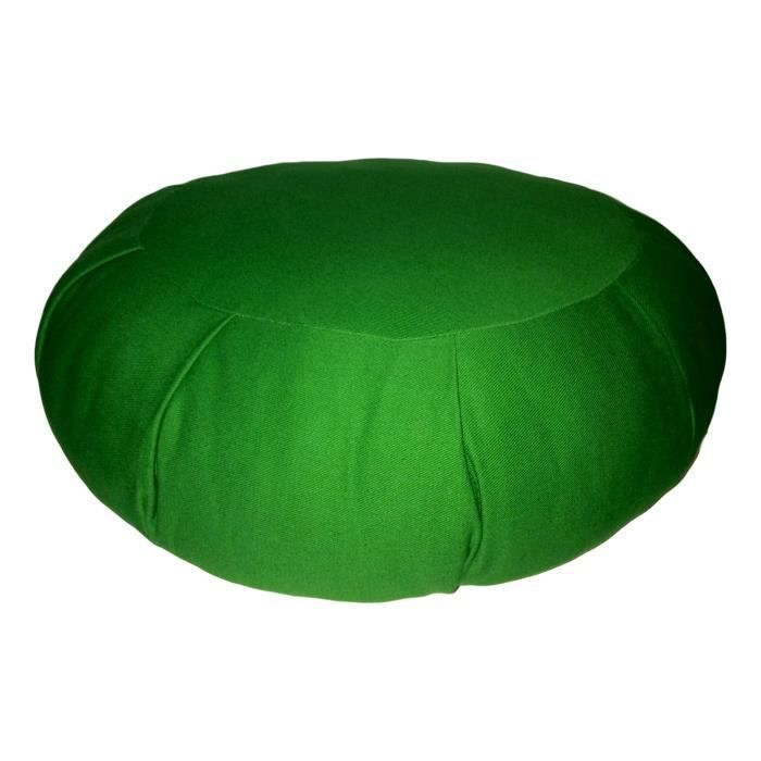 Zafu Traditionnel Vert