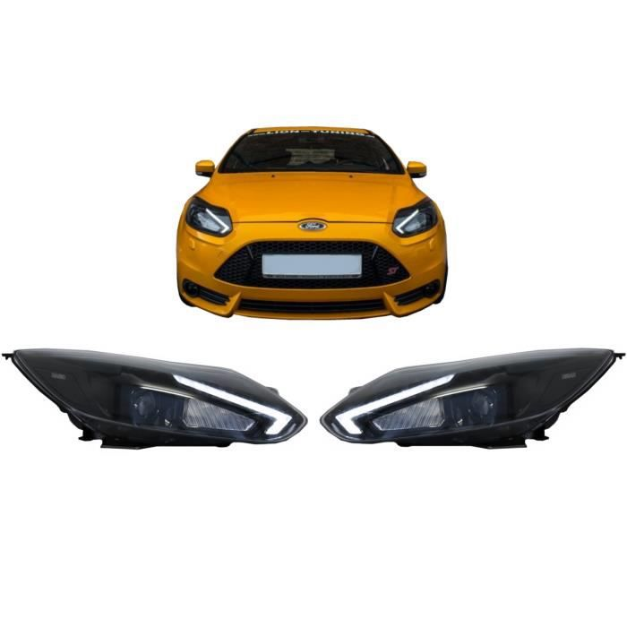 Phares Osram LED pour Ford Focus III Mk3 10-14 Xenon Upgrade OEM Halogène