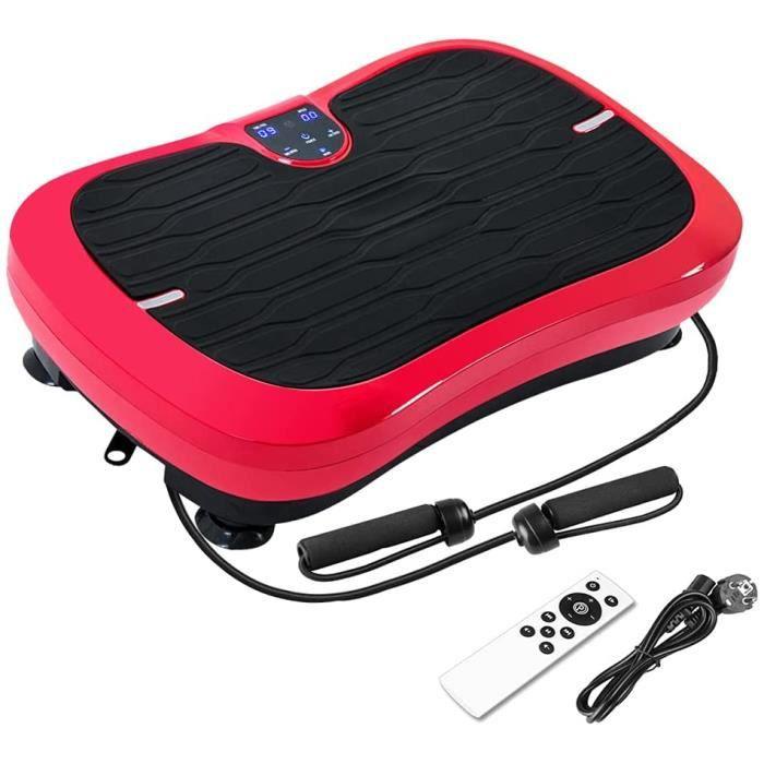 FITTIME Plateforme vibrante professionnelle, appareil d'entraînement professionnel de fitness - style mode - haut-parleur Bluet A55