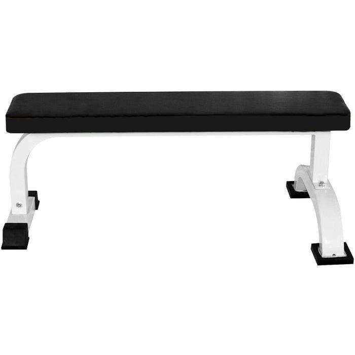 Banc de musculation banc plat banc de fitness a maison Banc d'Haltérophilie Haltère Exercices d'Haltérophilie et Exercices d'[472]