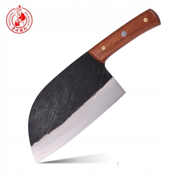 DENG Couteau de chef chinois couteau couperet de cuisine