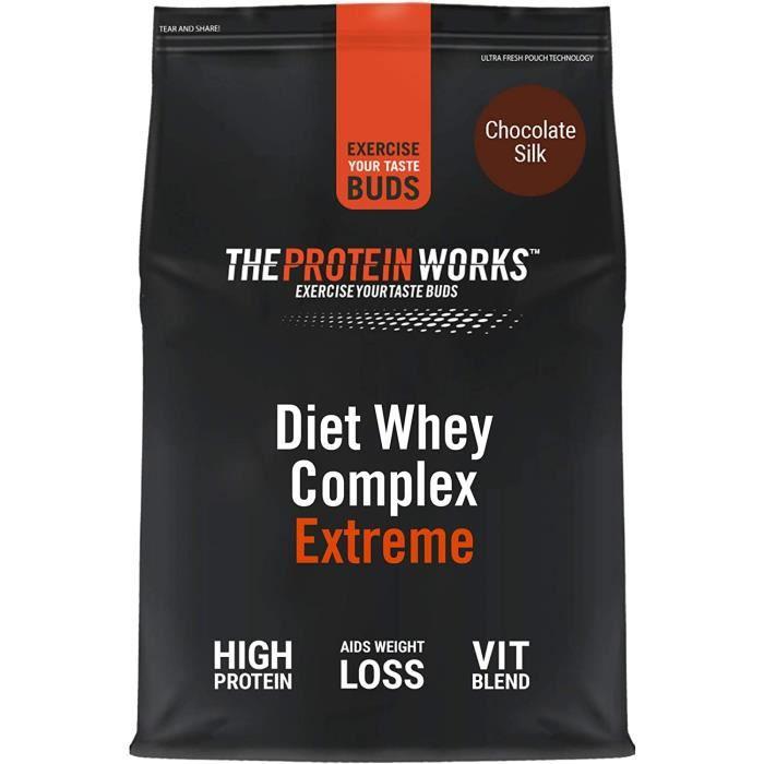 Protéine pour maigrir extreme - Shake diététique pauvre en graisses et en calories - Riche en vitamines et minéraux - THE PROTEI170
