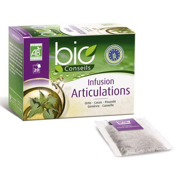 Infusion Articulations Bio - 20 sachets - Bioco…