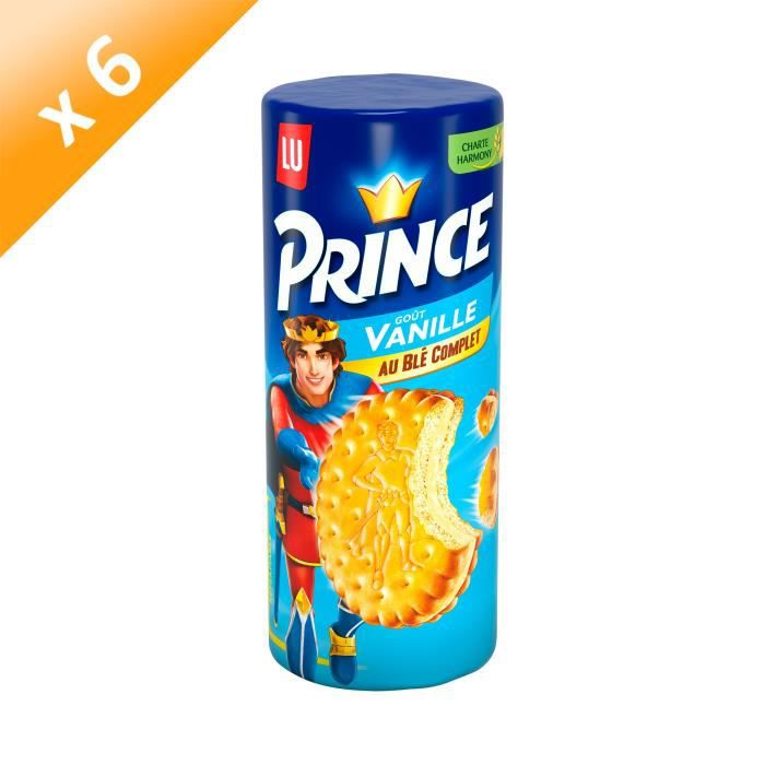 [LOT DE 6] Prince Vanille 300g